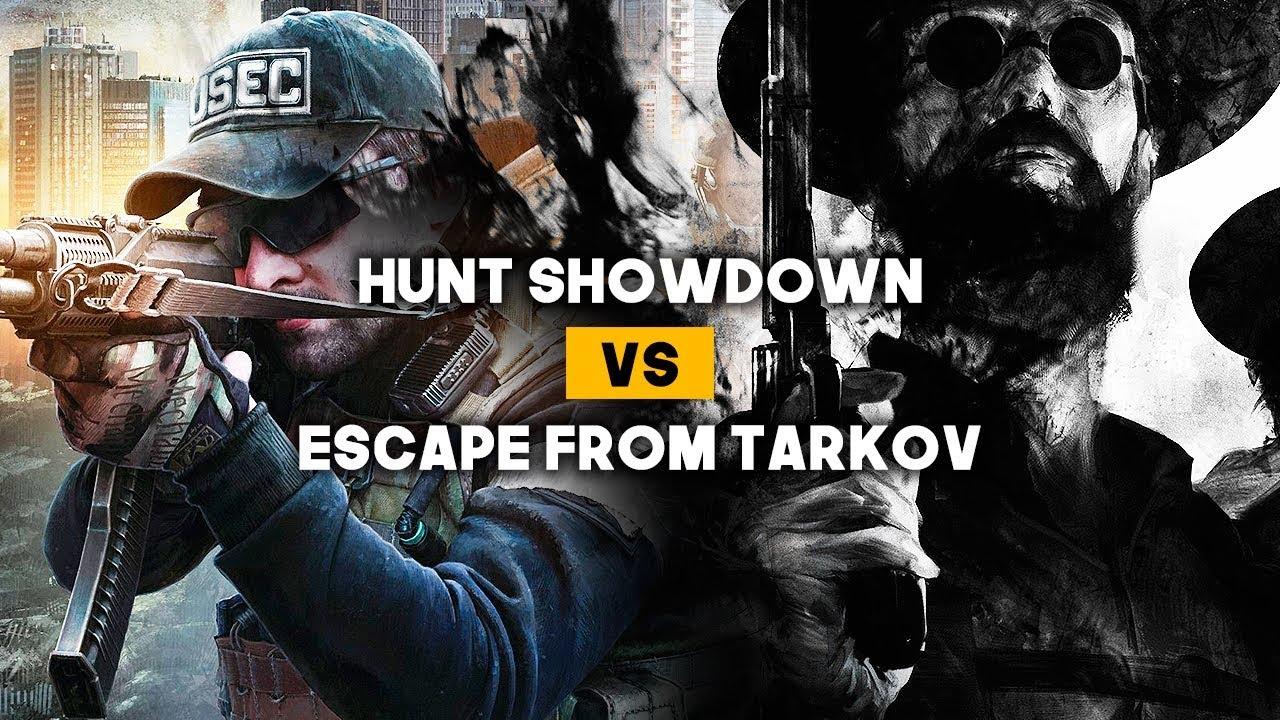 HUNT SHOWDOWN vs ESCAPE FROM TARKOV: Lucha por la supervivencia