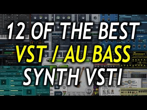 TOP 12 BEST BASS SYNTH VST/AU and INSTRUMENT PLUGINS