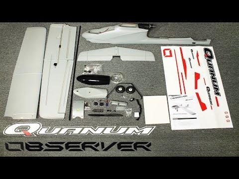 Unboxing the Quanum Observer FPV Plane
