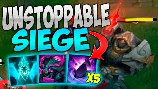 THE UNSTOPPABLE MID LANE SIEGE CANNOT BE STOPPED! ALL SPAWNABLE COMP! thumbnail