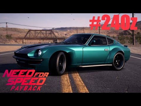 need for speed payback nissan 240z race build youtube. Black Bedroom Furniture Sets. Home Design Ideas