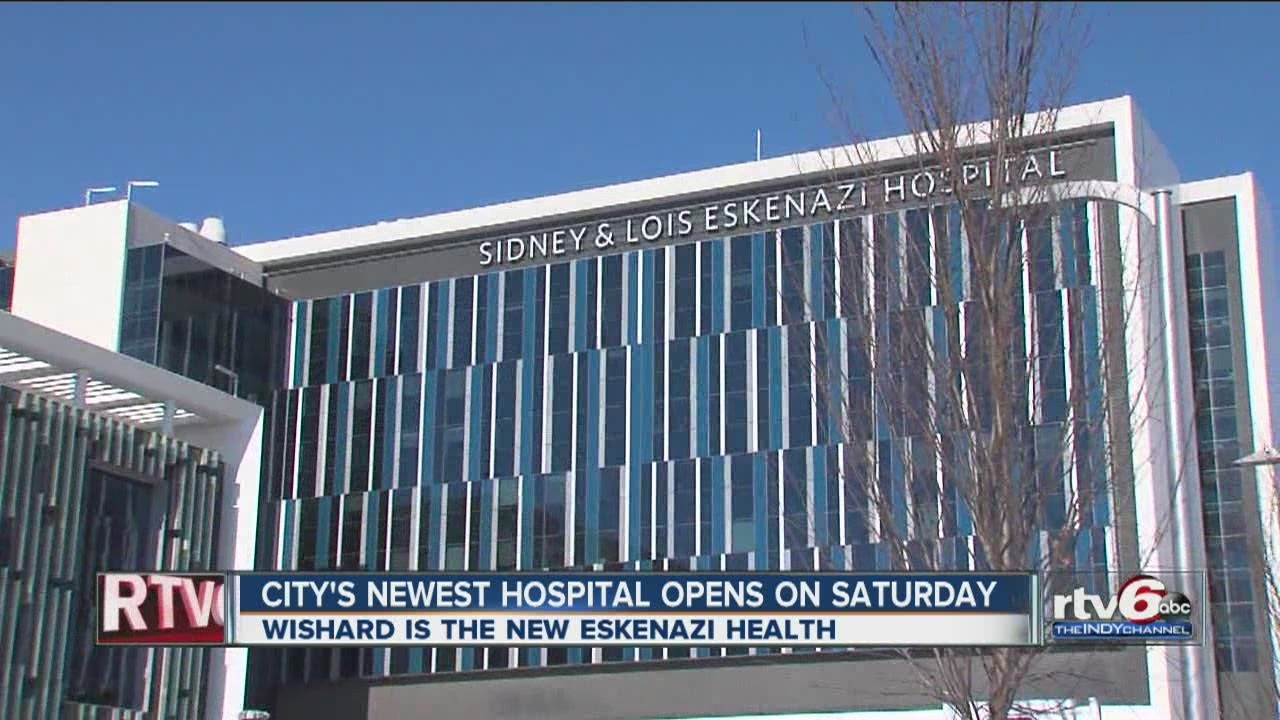 Sidney Lois Eskenazi Hospital Opened Saturday Youtube