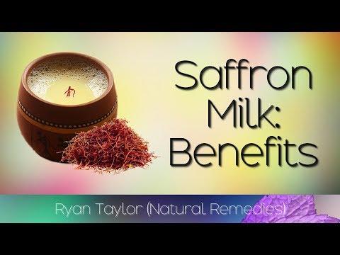 Saffron Milk: Benefits for Health