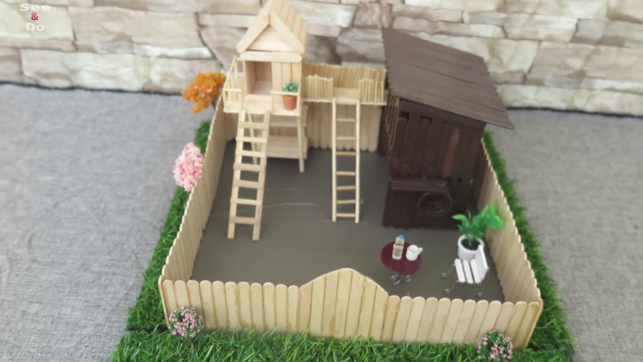 House Without Hot Glue Gun