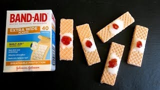 DIY HALLOWEEN BAND AID COOKIES