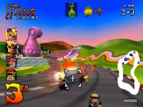 Crash Team Racing Walkthrough Part 16 - Coco Park [Trophy Race]