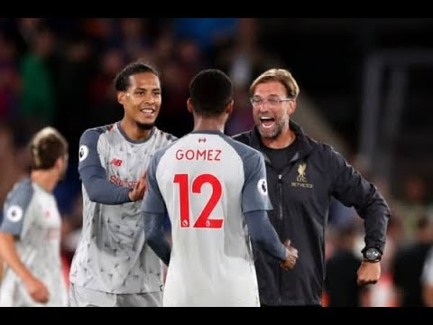 Van Virgil Dijk and Joe Gomez vs Crystal Palace Highlights 2018 | Best Skills Defence