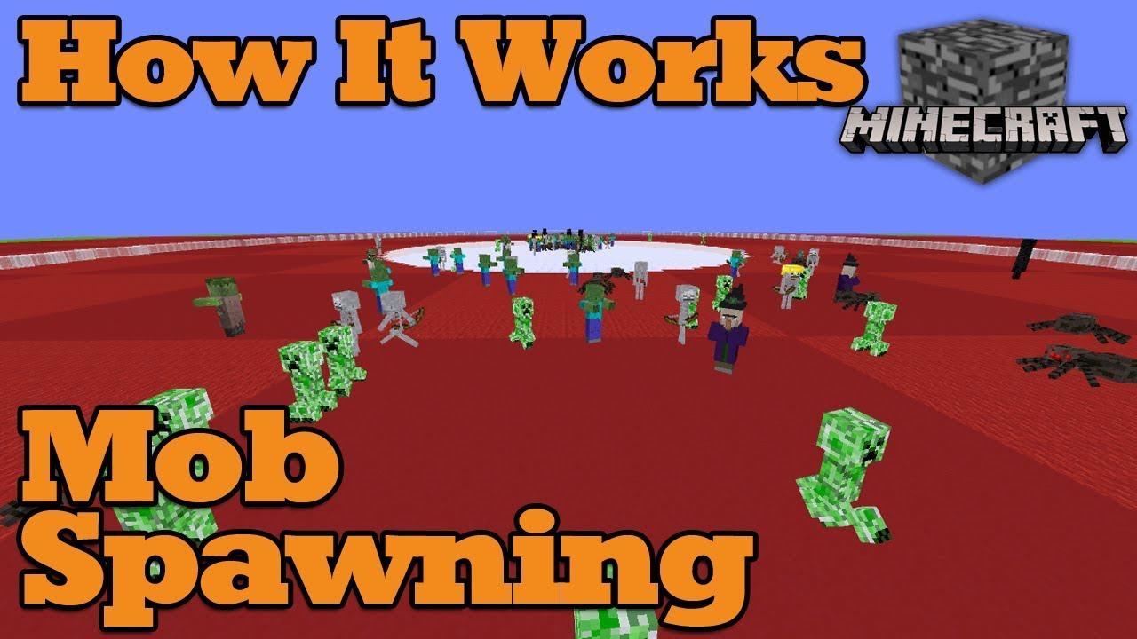 Tutorial How It Works Mob Spawning Minecraft Bedrock 1210 Tutorials Mechanisms Wiki Win10 Pe