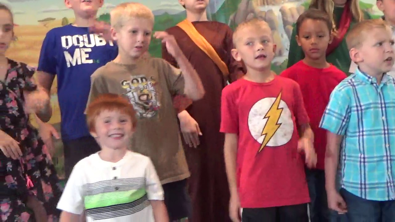 2019 VBS Kids Singing Theme Song