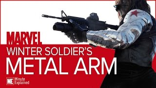 Winter Soldier's METAL ARM Explained!