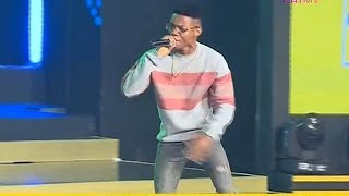 Kidi Wow Fans with Great Performace at MTN Hit Maker 7
