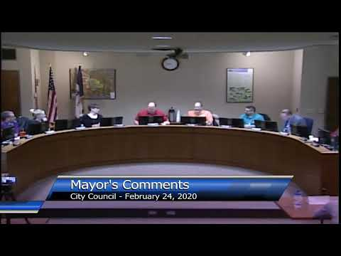 City Council Study Session Meeting - Feb 24 2020