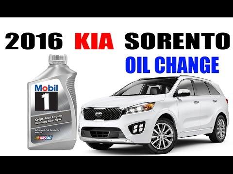 2016+ Kia Sorento Oil Change