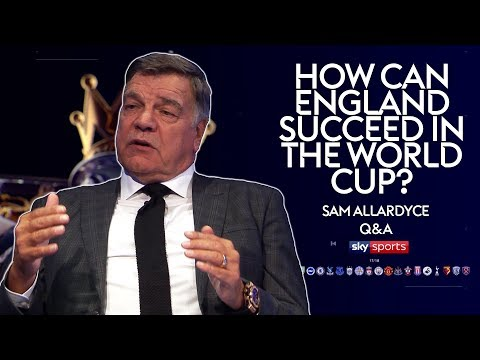England players need to relax more at tournaments | Sam Allardyce Q&A | Monday Night Football