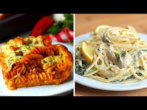 8 Garlic Pasta Family Dinners
