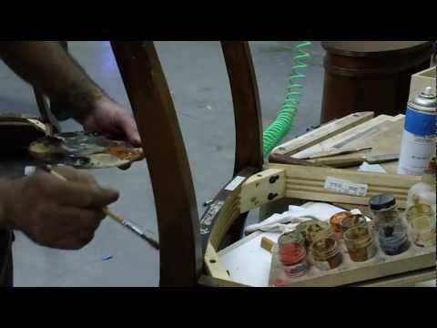 How-To Touch-Up Repaired Dining Room Chair