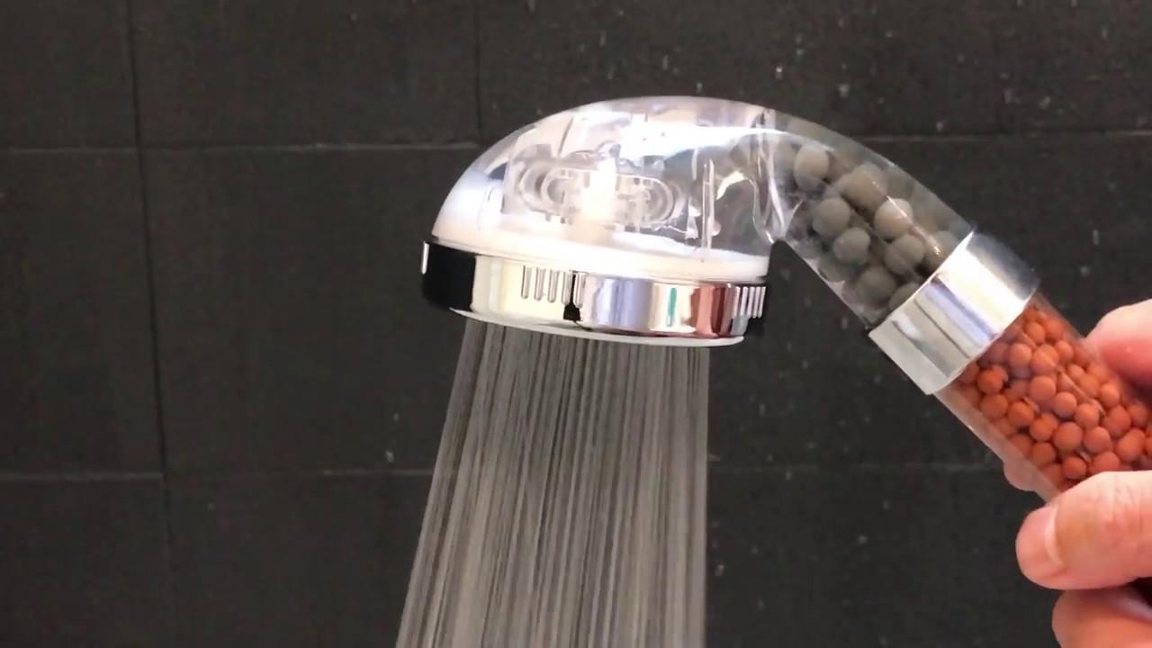 pommeau de douche super pression et purificateur