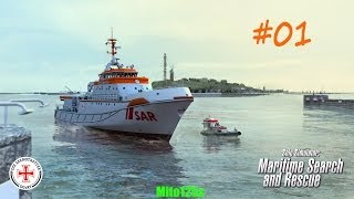 Ship Simulator: Maritime Search and Rescue #01 w/FaceCam