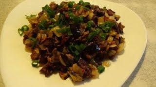 #турецкая#кухня Баклажаны как грибы/Жареные баклажаны /Супер быстрый и простой рецепт.