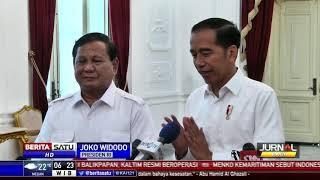 Jokowi-Prabowo Bahas Peluang Gerindra Bergabung Koalisi