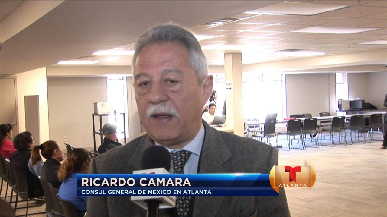 Dieron atención en el consulado de México en Atlanta