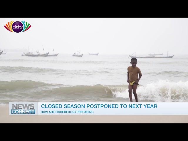 Closed fishing ban postponed to 2019