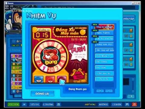Lỗi quay nhiệm vụ đồng xu may mắn(Boom Online)
