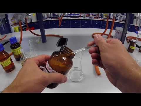 Drying Solvent Using Magnesium Sulfate