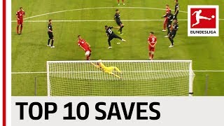Neuer, Bürki and More - Top 10 Best Saves Supercup
