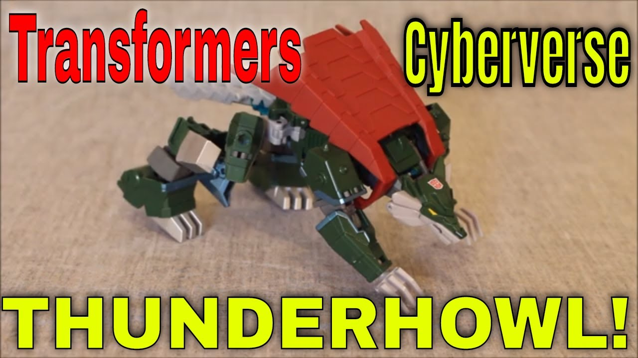 A Mighty Bite: Cyberverse Thunderhowl Review by GotBot