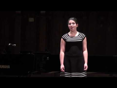 """""""The Gartan Mother's Lullaby"""" Trad. Irish - County Donegal, Performed by Sheyda Shams"""