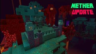 Minecraft Nether House! - NEW UPDATE [1.16]