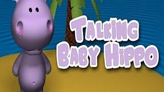 Talking Baby Hippo - By Outfit7 Limited - Compatible with iPhone, iPad, and iPod touch.