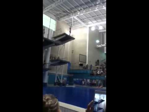 Amazing 10m dive #splatleeds