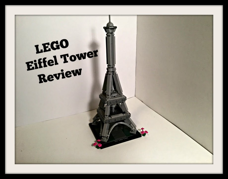 lego architecture: 21019 eiffel tower review and stopmotion - youtube