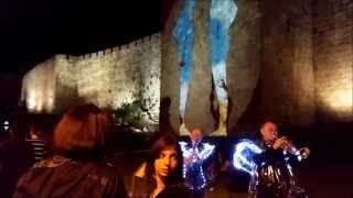 Jerusalem Festival of Light - June 3-11 2015 - Peek Preview פסטיבל האור ירושלים 2015