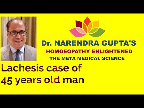 Repeat Causticum case of 55 years old man - 1 by Dr  Narendra Gupta