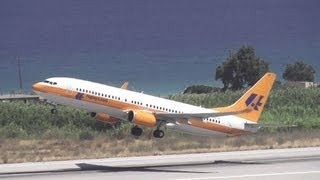 Hapag-Lloyd take-off from Rhodes