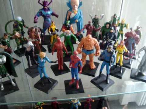 Ma collection Eaglemoss Marvel - YouTube