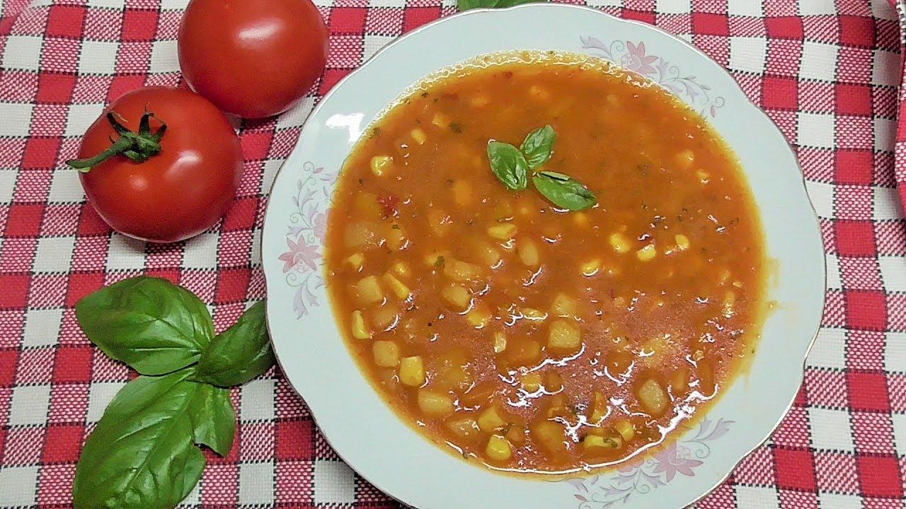 Pikantna zupa z ajvarem /Kasia ze slaska gotuje