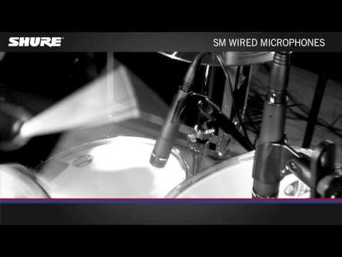 SHURE série SM : des micros légendaires !