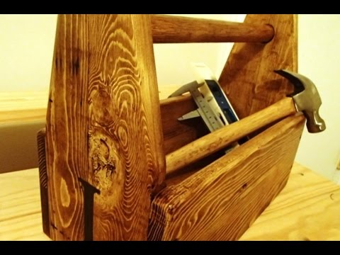 jr toolbox - pallet wood mini project