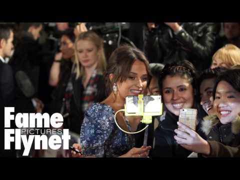 Stars Seen Arriving At The Premiere Of The Light Between Oceans In London fragman