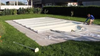 Repeat youtube video Kertex Poolabdeckung Rollschutz zurollen