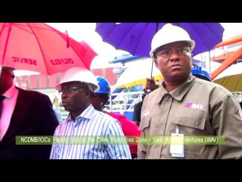 NCDMB IOCs Facility Tour at Onne Trade Free Zone West African Ventures WAV