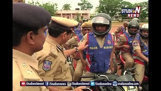 Commissioner Starts Blue Coult And Petrol Car Groups | Warangal | Studio N