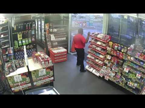 Service station attempted robbery streaming vf