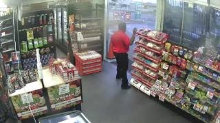 Service station attempted robbery