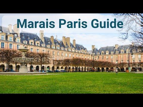 Where to stay in Paris - Le Marais