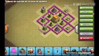Como crear una buena aldea de guerra Clash of clans 2017